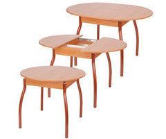 Обеденный стол Обеденный стол Древпром М4 (круглый, раздвижной)