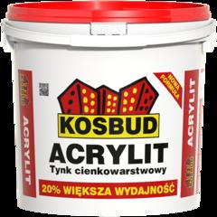 Штукатурка Штукатурка Kosbud Acrylit 25 кг барашек