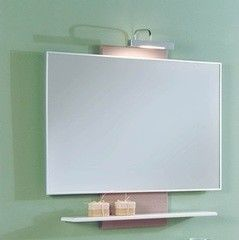 Мебель для ванной комнаты Акватон Зеркало Логика М95 (1A108002LOPX0) лен шенон