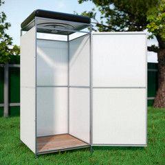 Летний душ для дачи Летний душ для дачи Агросфера Без тамбура + бак с подогревом на 110 л