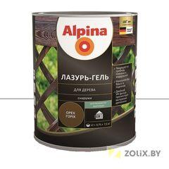 Защитный состав Защитный состав Alpina Лазурь-гель для дерева бесцветная (2,5 л)