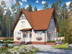 Строительство домов Строительство домов БелДревМонтаж Виктория К 6х9