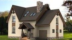 Строительство домов Строительство домов ЭФАЛ-СтройБел Проект дома 9
