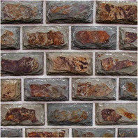 Натуральный камень Натуральный камень АЛЬТЕРфасад Multicolor для цоколя и фасада