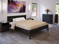 Кровать Кровать Интерлиния Констанция КН-001-1 (дуб венге)