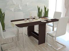 Обеденный стол Обеденный стол Интерлиния СТ-005 (дуб венге)
