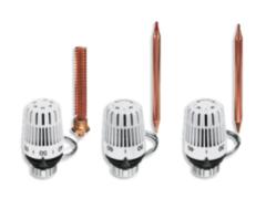 Комплектующие для систем водоснабжения и отопления Heimeier Термоголовка K с выносным контактным или погружным датчиком