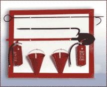 Пожарный шкаф и щит Центр обеспечения 101 Щит пожарный навесной (открытого типа)