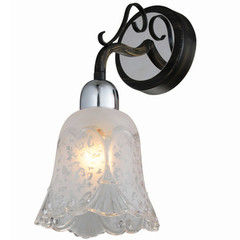 Настенный светильник Citilux Оливия CL151311 Венге + Хром