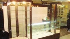 Торговая мебель Торговая мебель Valtera Торговая витрина из закаленного стекла 10мм