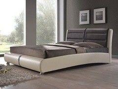 Кровать Кровать Kondor VERA 180х200 (коричневая с бежевым)