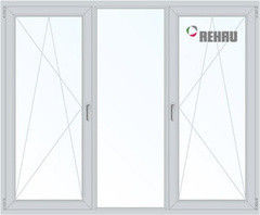 Окно ПВХ Окно ПВХ Rehau 2060*1420 2К-СП, 5К-П, П/О+Г+П/O