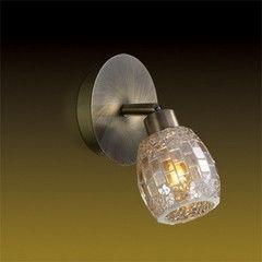 Настенно-потолочный светильник Odeon Light Glosse 2166/1W