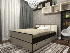 Кровать Кровать Настоящая мебель Весна 1600x2000
