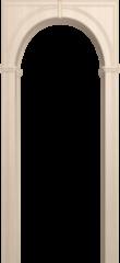 Межкомнатная арка Юркас Палермо Беленый дуб