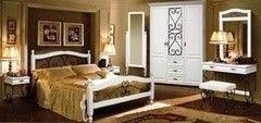 Спальня Лидская мебельная фабрика Глория 8 (белая)