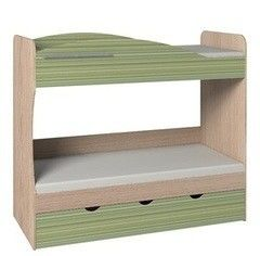 Двухъярусная кровать Глазовская мебельная фабрика Калейдоскоп 6