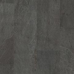 Виниловая плитка ПВХ Виниловая плитка ПВХ Quick-Step Ambient Click Glue Plus Сланец чёрный (AMGP40035)