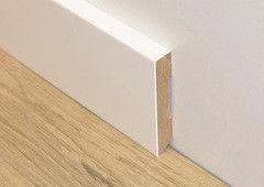 Плинтус Плинтус ДвериДом Плоский. Крашеный в любой цвет по каталогу RAL. 120х16