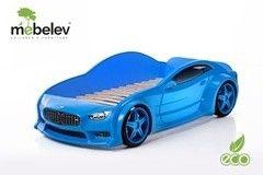 Детская кровать Детская кровать МебеЛев EVO БМВ (синий)