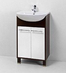Мебель для ванной комнаты Акваль Тумба под умывальник Карина 55 см