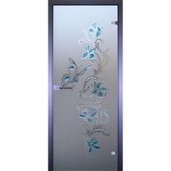 Стеклянная дверь Акма Art-Decor Бабочка 2