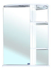 Мебель для ванной комнаты Bellezza Зеркало-шкаф Нарцисс 55 см