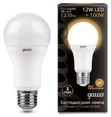 Лампа Лампа Gauss 102502112, E27, G60, 12Вт