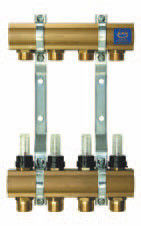 Комплектующие для систем водоснабжения и отопления KAN-therm Коллекторная группа (серия 55A) 55070A