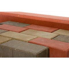 Тротуарная плитка Тротуарная плитка Завод «Белбрук» Кирпичик 210х105х60 (цветной)