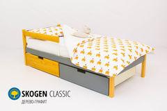 Детская кровать Детская кровать Бельмарко Skogen Classic дерево-графит