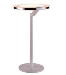 Настольный светильник IDlamp Jenevra 397/1T-LEDWhitechrome