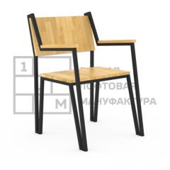 Кухонный стул 1Loft S-0001 (Дубовый щит)