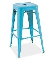 Барный стул Барный стул Signal Long голубой