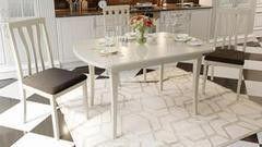 Обеденный стол Обеденный стол ТриЯ Альт 2 раздвижной на деревянных ножках
