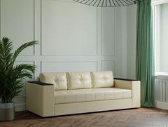 Диван Диван Настоящая мебель Ванкувер Лайт с декором (модель: 00-000034501) бежевый