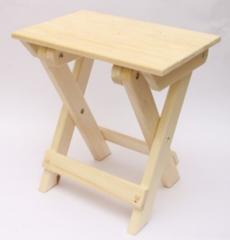 Мебель для бани и сауны Липа Табурет раскладной 420x280x430