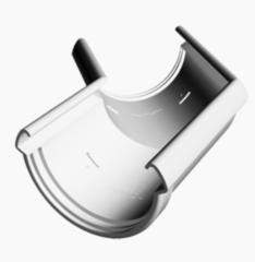 Водосточная система Docke Lux Угловой элемент 135° (пломбир)