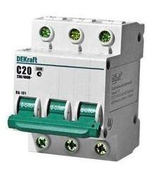 DEKraft Автоматический выключатель ВА101-3P-020A-C (11079DEK)