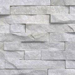 Натуральный камень Натуральный камень АЛЬТЕРфасад 3D панель из сланца White Quarzite