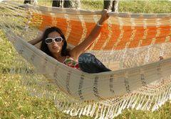 Гамак Гамак  Подвесной гамак Tropical Paradise оранжевый