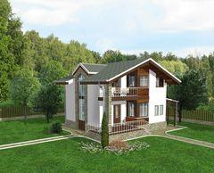 Лучший дом Проект дома М0418135