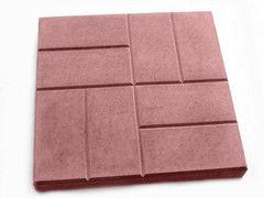 Тротуарная плитка Тротуарная плитка Завод тротуарной плитки Восемь кирпичей 400*400*50 (красная)