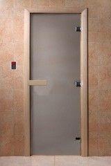 Дверь для бани и сауны Дверь для бани и сауны Doorwood Сатин