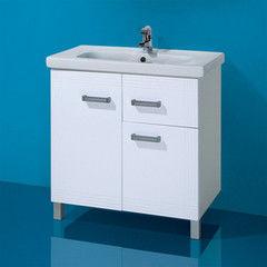 Мебель для ванной комнаты Акваль Тумба под умывальник Элиза 80