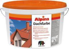 Краска Краска Alpina Dachfarbe Ziegelrot 10L