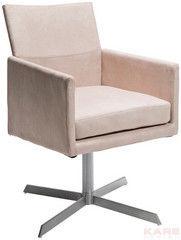 Офисное кресло Офисное кресло Kare Swivel Arm Chair Dialog Cream 76441