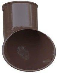 Водосточная система Альта-Профиль Элит Слив трубы ПВХ коричневый