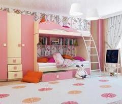 Детская комната Детская комната Горизонт Радуга Фламинго