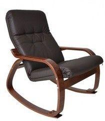 Кресло Кресло Impex Сайма экокожа шоколад